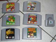 Diverse Games für N64