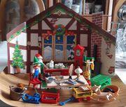 Playmobil Adventskalender 3974 Weihnachtswerkstatt 1998