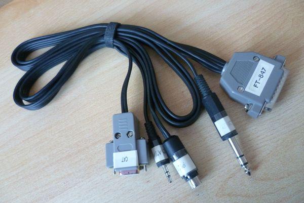 FT-847 Kabel für RigExpert