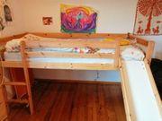 Kinderstockbett mit Rutsche