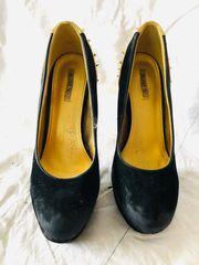 schwarze High Heels von Jumex