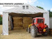 Lagerzelt Heuzelt Garagenzelt 4x8m PVC