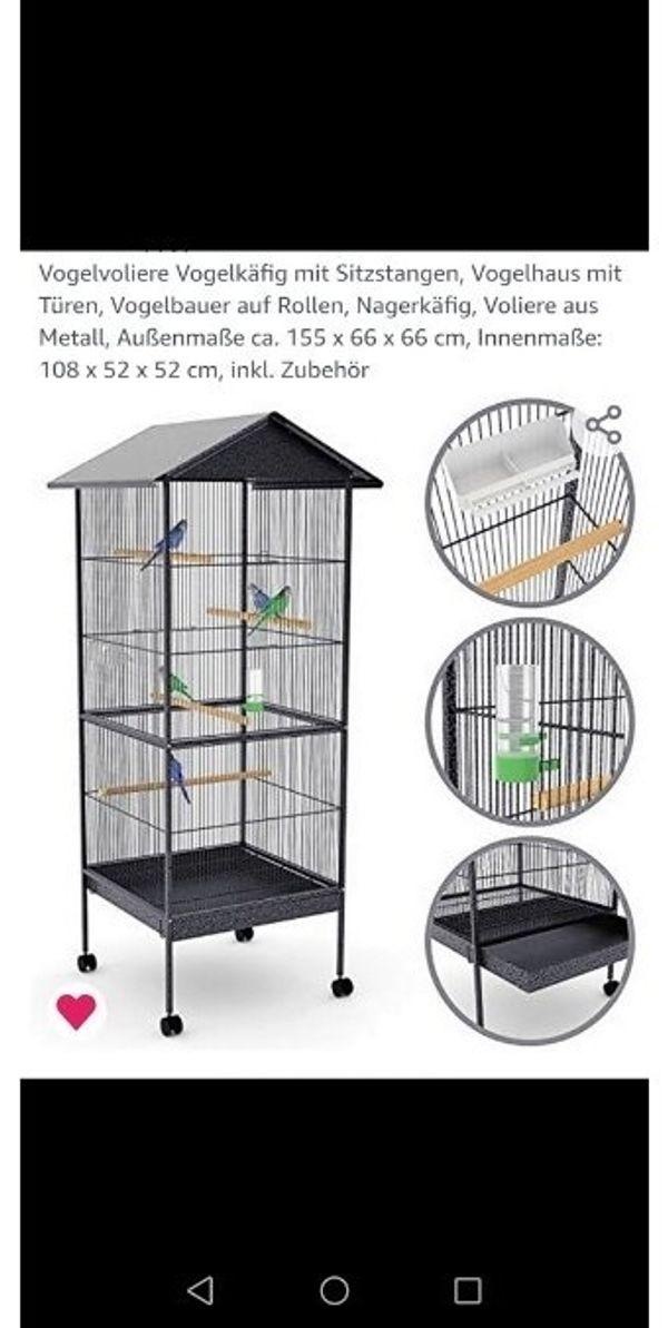 Vogelvoliere gebraucht