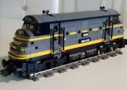 LEGO 9VOLT EISENBAHN LOKOMOTIVE