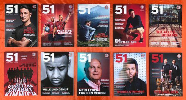 Bayern München Fanmagazine Säbener 51 -