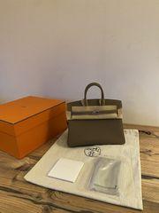 Neue Hermès Birkin 25 Etoupe
