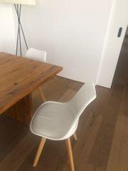 Stuhl weiss 6 Stück