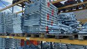 Stahl Gerüst 255 qm 30x8