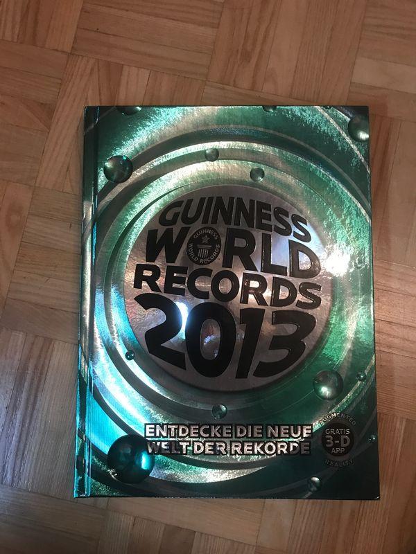 Guinnes World Records 2013 - Buch