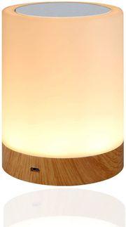 LED Nachttischlampe Dimmbar Tischlampe 16