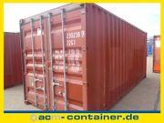 20 fuß Seecontainer gebraucht A-Klasse