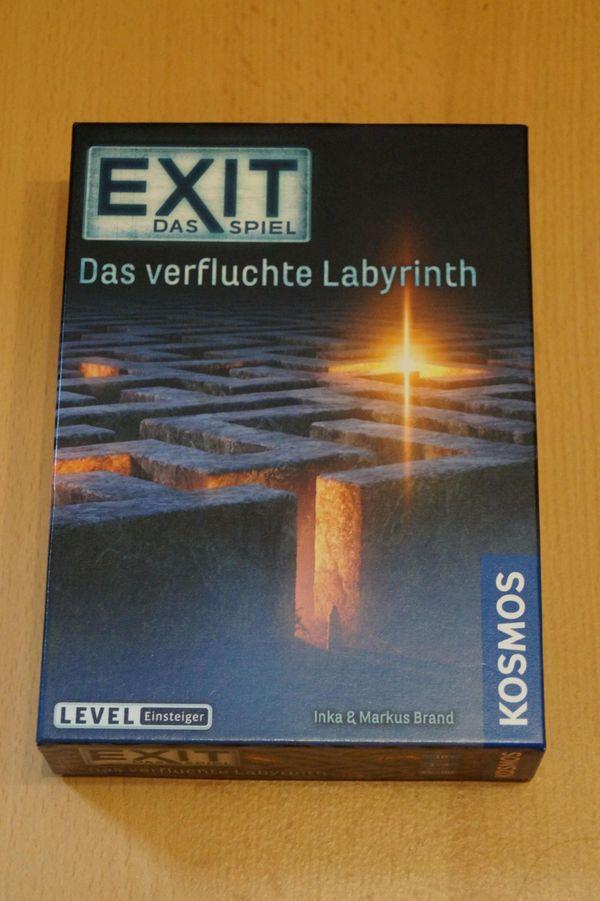 Exit: Das verfluchte Labyrinth (Escape Room Spiel)