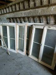 Alte Fenster weiß