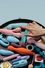 Benutzte Spielzeuge Vibratoren dildos Plugs