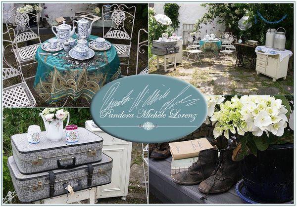 Vintage Dekorationen Hochzeitsdeko Candy Buffet