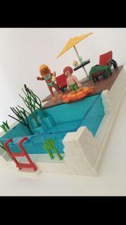 Playmobil Swimmingpool vollständig