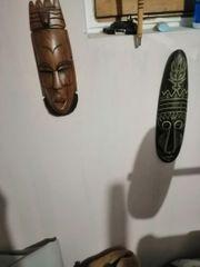 verschiedene Masken deko