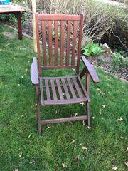Gartenstühle echt holz - 4 Stück
