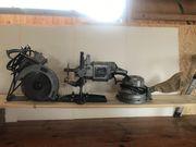 Oldtimer Holzbearbeitungs Maschinen