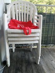 Garten Stühle Tisch zu verschenken