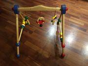 Spieltrapez aus Holz