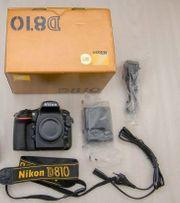 Nikon D810 Body ca 23000
