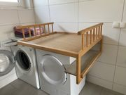 Wickelaufsatz für die Waschmaschine zu