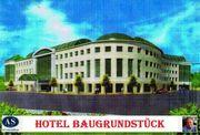 Hotel-Baugrundstück mit 160 Zimmern Tagungsräumen
