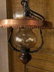 schöne Kupferlampe 2
