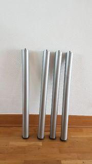 4 x Tisch Beine Tischbeine -