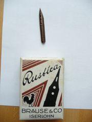 Schreibfeder Rustica Brause u Co