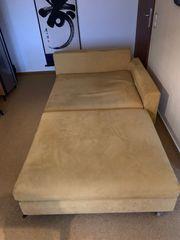Sofa 2 Teile Alcantara Baumwolle