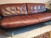 Couch 3 2 1 Echtleder