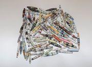 Papierperlen -MIX-100 Stück siehe Bild