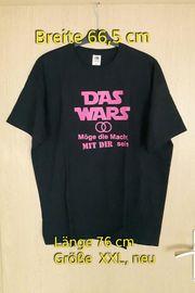 T-Shirt mit Schriftzug Aufdruck Das