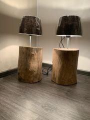 Treibholz Stehlampe
