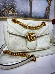 Gucci Tasche weiß