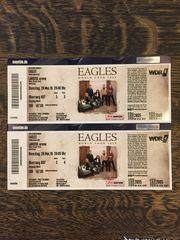 EAGLES-Konzertkarten im Wert von 300