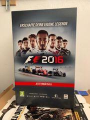 Merchandising Aufsteller Würfel F1