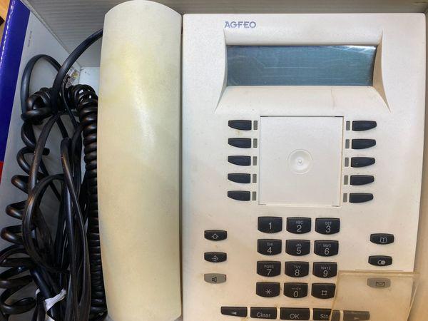 Systemtelefon AGFEO ST30 weiß