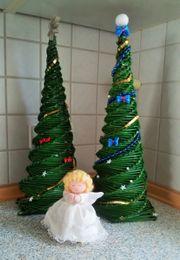 Weihnachts-Deko - kleine Tisch-Weihnachtsbäume