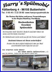 Geschirrverleih Gläserverleih Spülmobilverleih mobile Spülküche