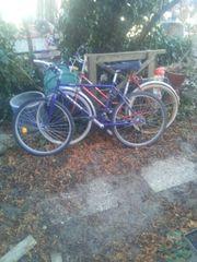 zwei alte Fahrräder abzugeben gebraucht