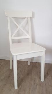Weißer Stuhl Holz