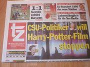 Geschenk zum 18 Geburtstag - Tageszeitung