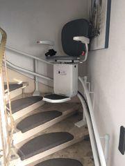 Wenig benutzter Treppenlift günstig abzugeben