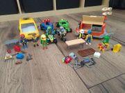 Playmobil Werkstatt Auto Quad Anhänger