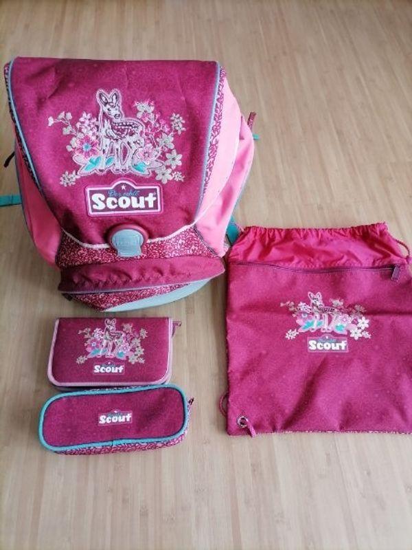 Schulranzenset von Scout - vierteilig