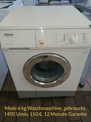Miele Waschmaschine 1400 Umin gebraucht