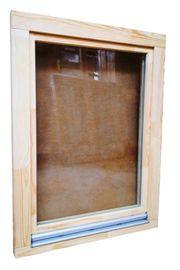 Holzfenster 90x120 cm Europrofil Kiefer